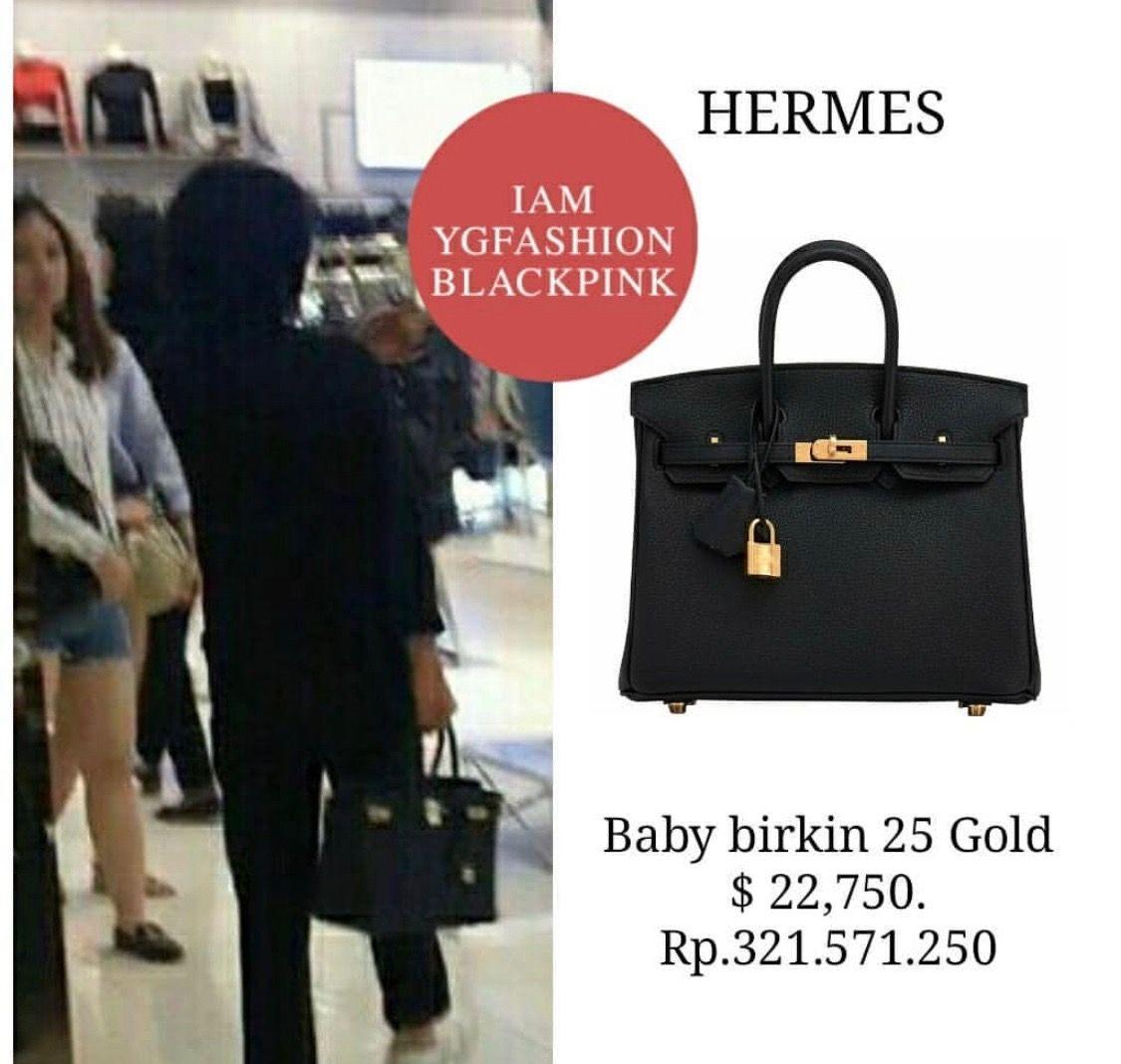 Jennie Kim S Mother Style Blackpink Birkin 25 Korean Fashion