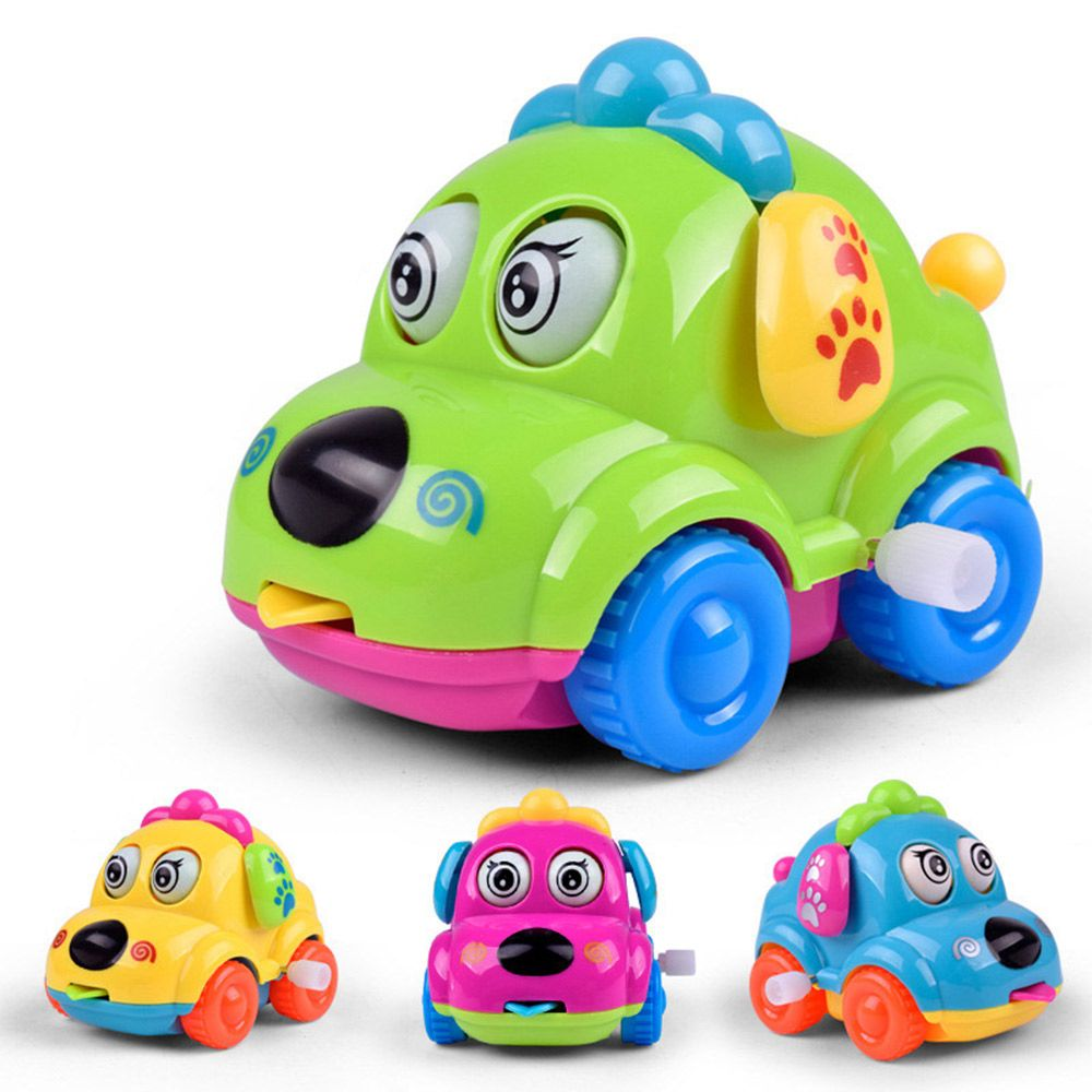 80s car toys  Animal Dog Wind Up Toys Running Car Classic Wind Up Toys Cute