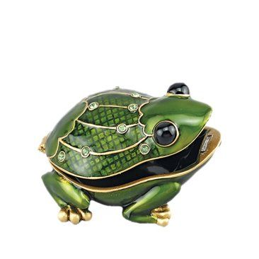 Hungry Frog jewelry box Frogs I Love Pinterest Frogs