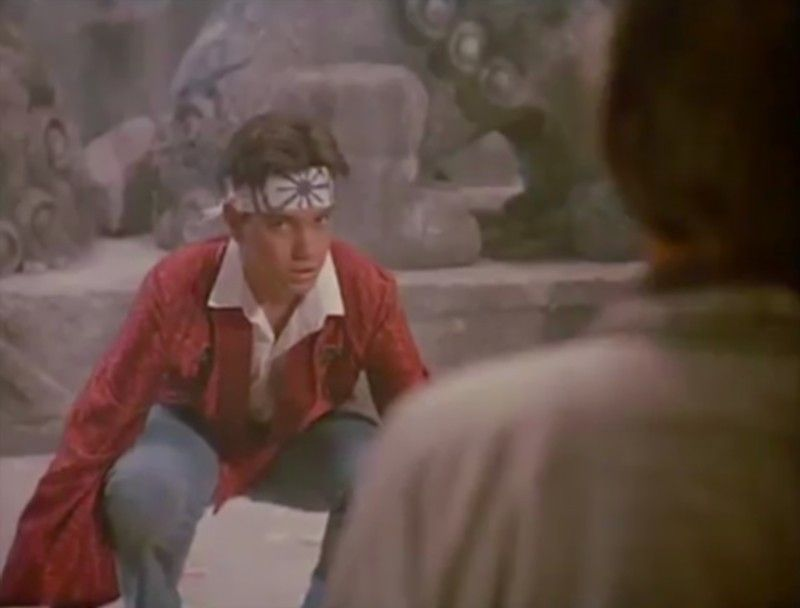 The Karate Kid Part Ii Ralph Macchio As Daniel Larusso In The Karate Kid Part Ii 1986 Karate Kid Ralph Macchio Karate