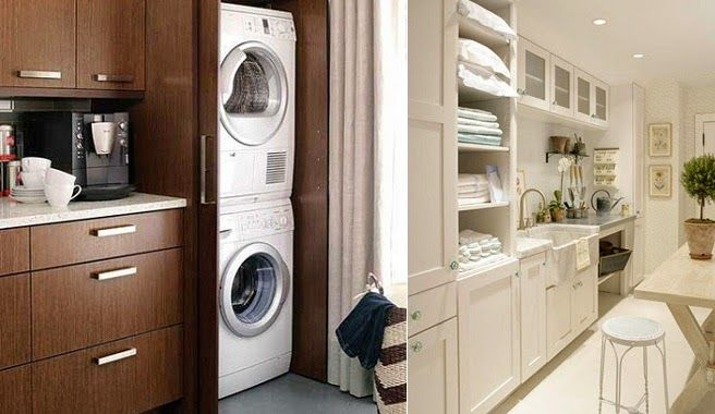 Integrar la zona de lavadero en la cocina lavadero en la for Lavaderos pequenos modernos