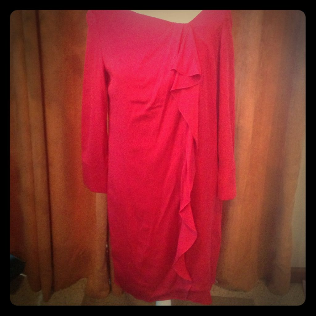 Gorgeous piazza sempione red long sleeve dress products