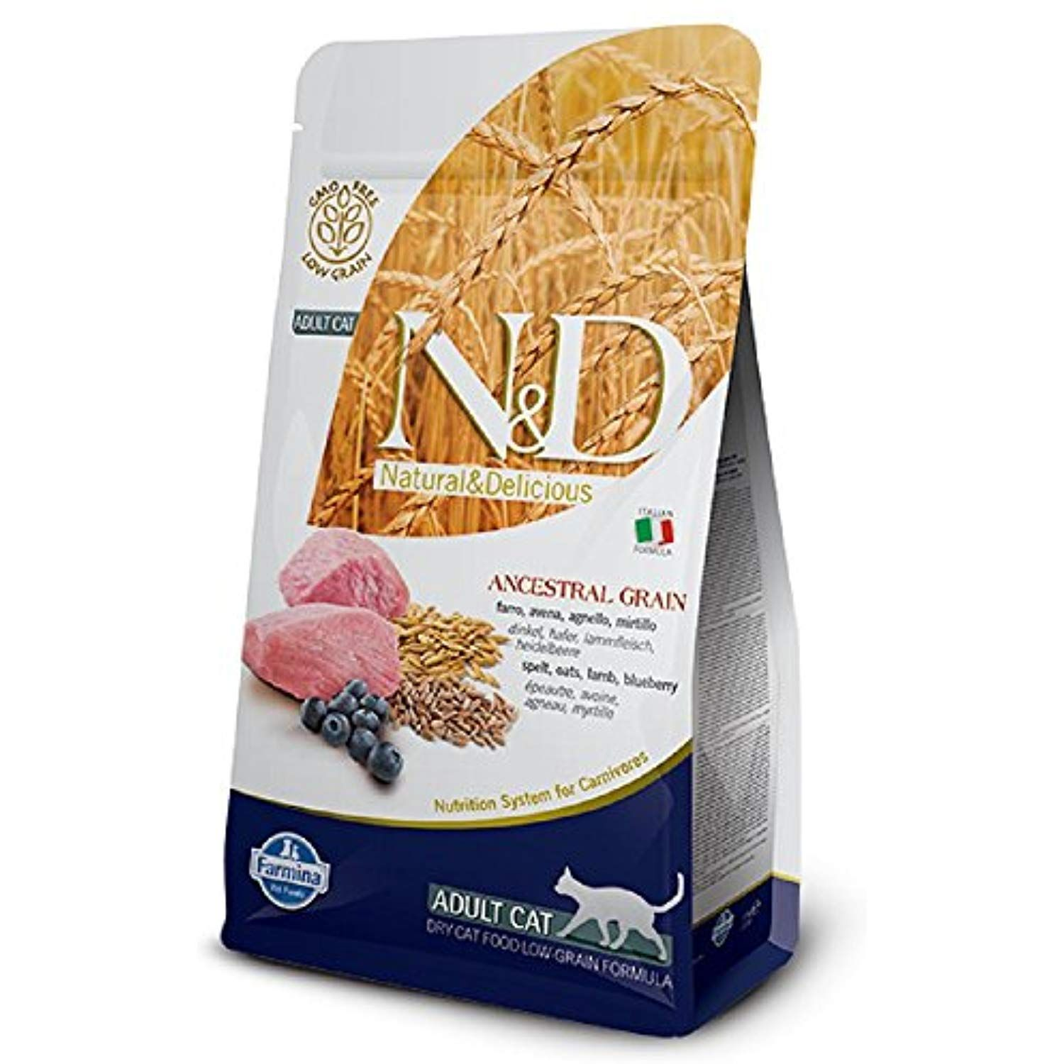 Farmina Natural and Delicious Low Grain Lamb and Blueberry