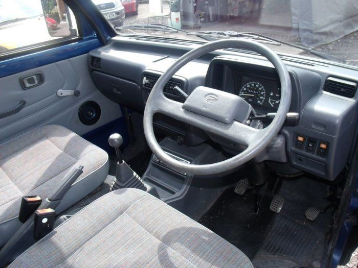 Daihatsu Hijet 13 Campervan Conversion Pop Top Camper Van Petrol Blue