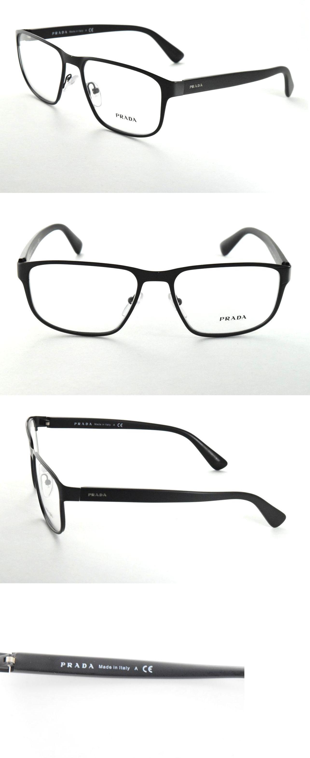 f3810b35a662 Fashion Eyewear Clear Glasses 179244  Prada Eyeglasses Vpr 56S Tkm-1O1  Matte Grey Black