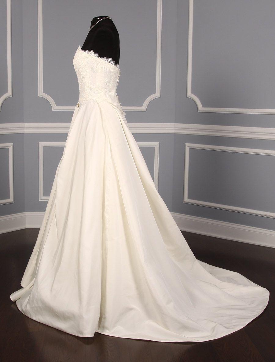Peter langner roseline wedding dress wedding dress weddings and