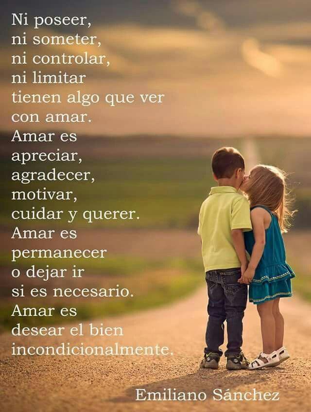 Amar Es Desear El Bien Te Extraño Tanto Amor Te Amo