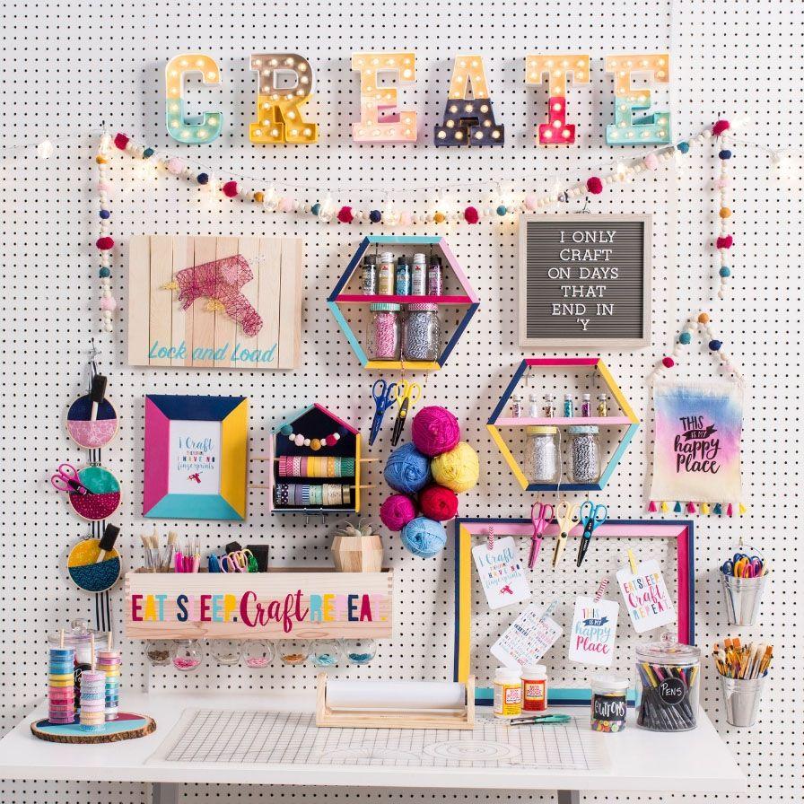 23 Nice Craft Room Ideas Craft Room Decor Diy Crafts Room