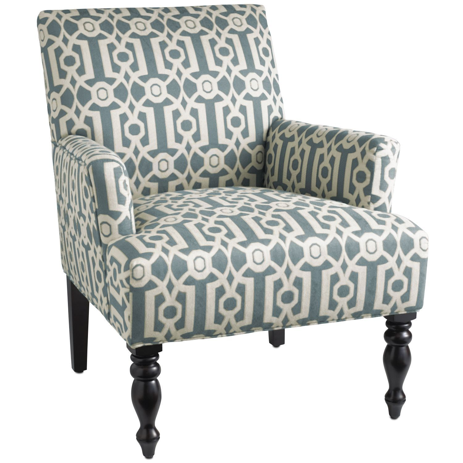Liliana Red Floral Armchair | Products