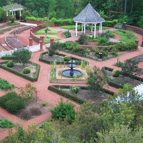 Georgia Garden: State Botanical Gardens Of Georgia In Athens, Georgia