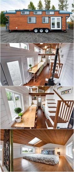 This custom designed  tiny house was built by mint homes in british columbia also rh pinterest