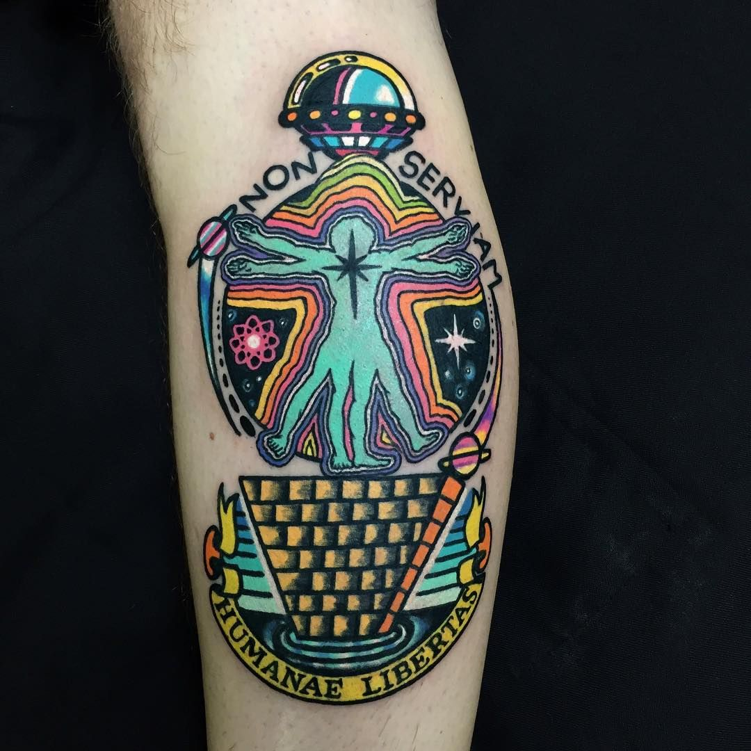 Small Acid Tattoo: Raro82's Psychedelic Tattoos (With Images)