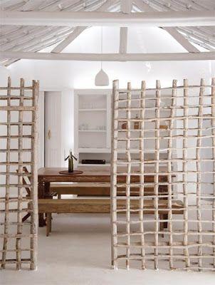 Méchant Design summer house in Brazil house Pinterest - muros divisorios de madera