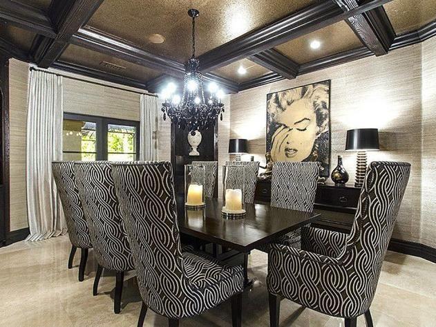 Khloe Kardashian House Interior.  KhloeKardashian s California Home Dining Room http www frontdoor