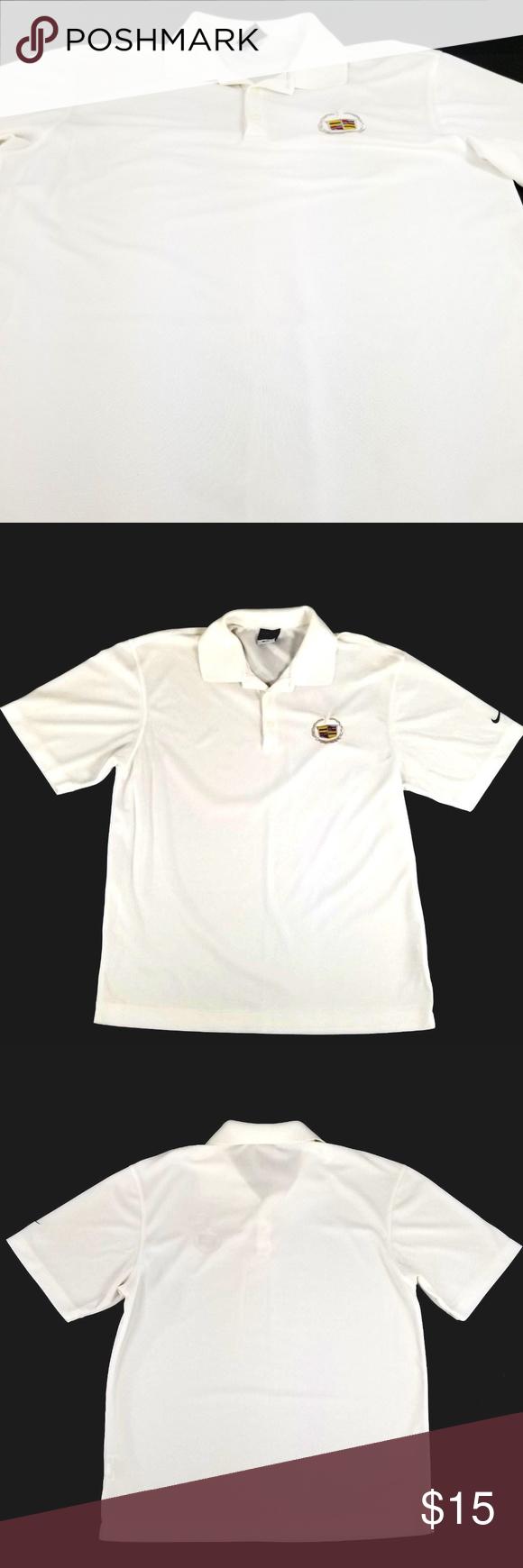 Nike Golf Dri Fit Cadillac Polo Shirt Size Medium Nike Golf Men S