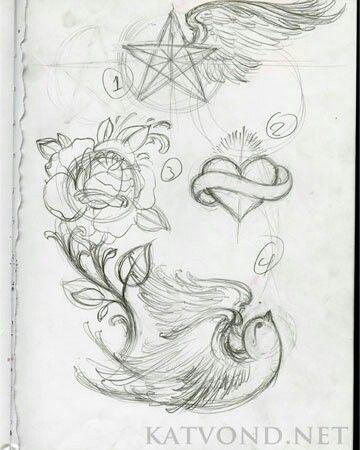 Pin By Fleur Schalkx On Things I Love Cartoon Tattoos Kat Von D Tattoos Kat Von D