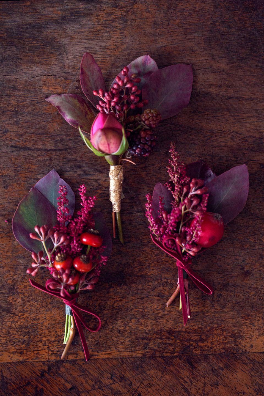 beautiful berry bouquet