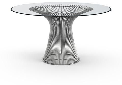 Platner Dining Table In 2020 Metal Base Dining Table Platner