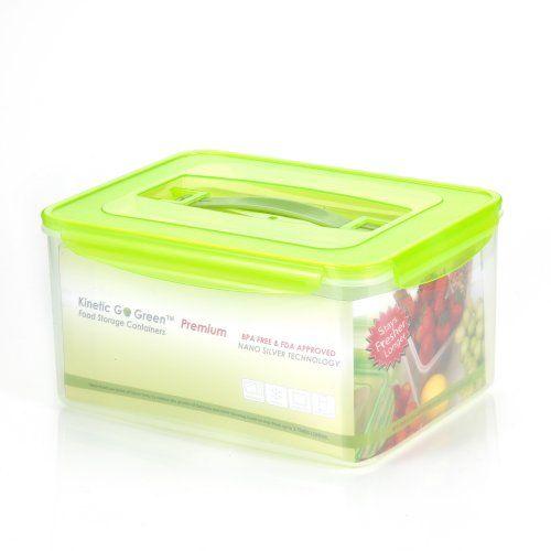 Kinetic Go Green Premium Nano Silver 237 Ounce Rectanglular Food