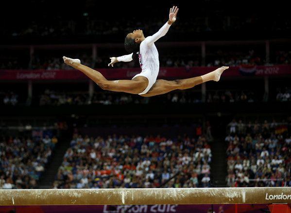 Gabby Douglas And Her Family Reptile | Gymnastics | Gabby ...