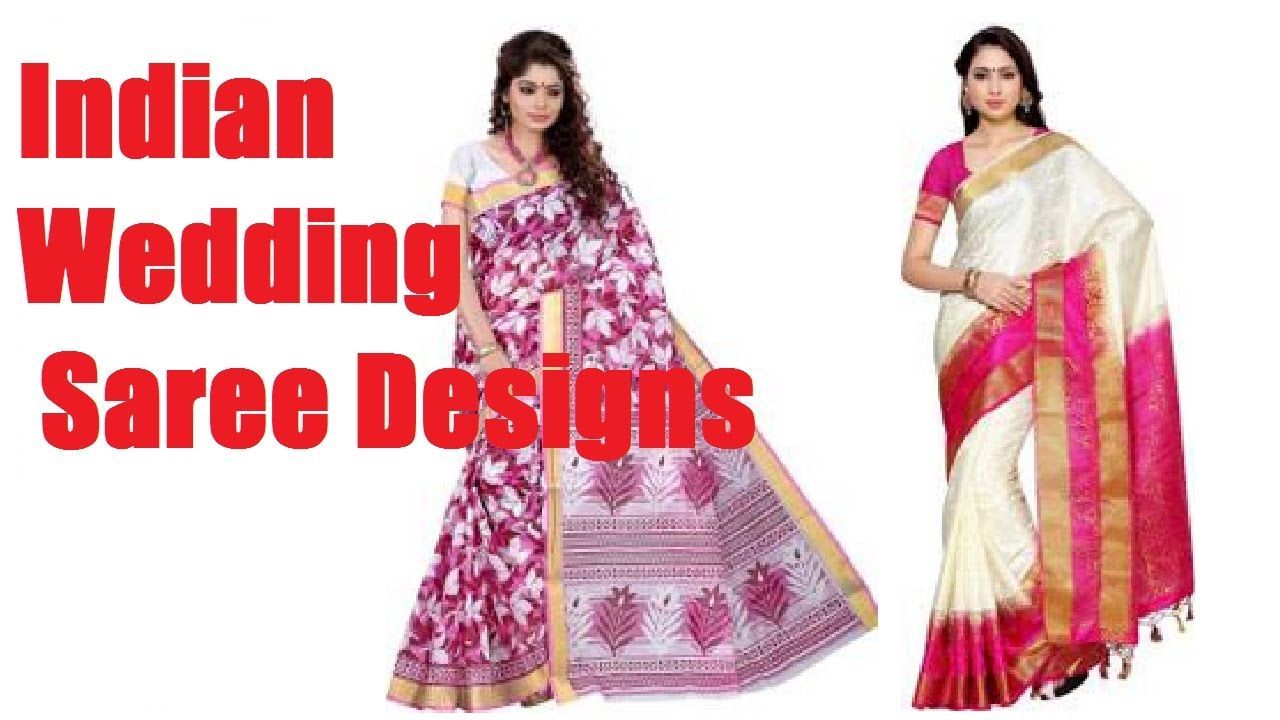 South Indian Wedding Saree Sari Designs in Flipkart and amazon ...