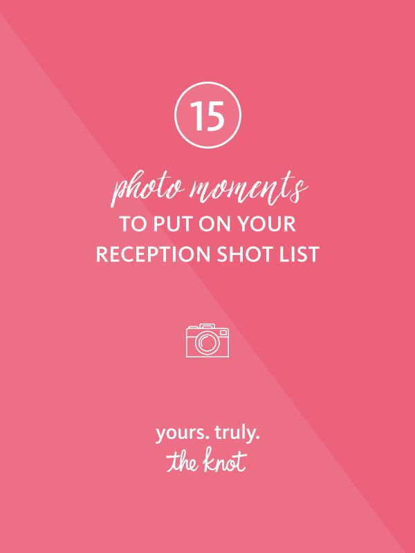 Photo Moments To Put On Your Reception Shot List  Centerpieces