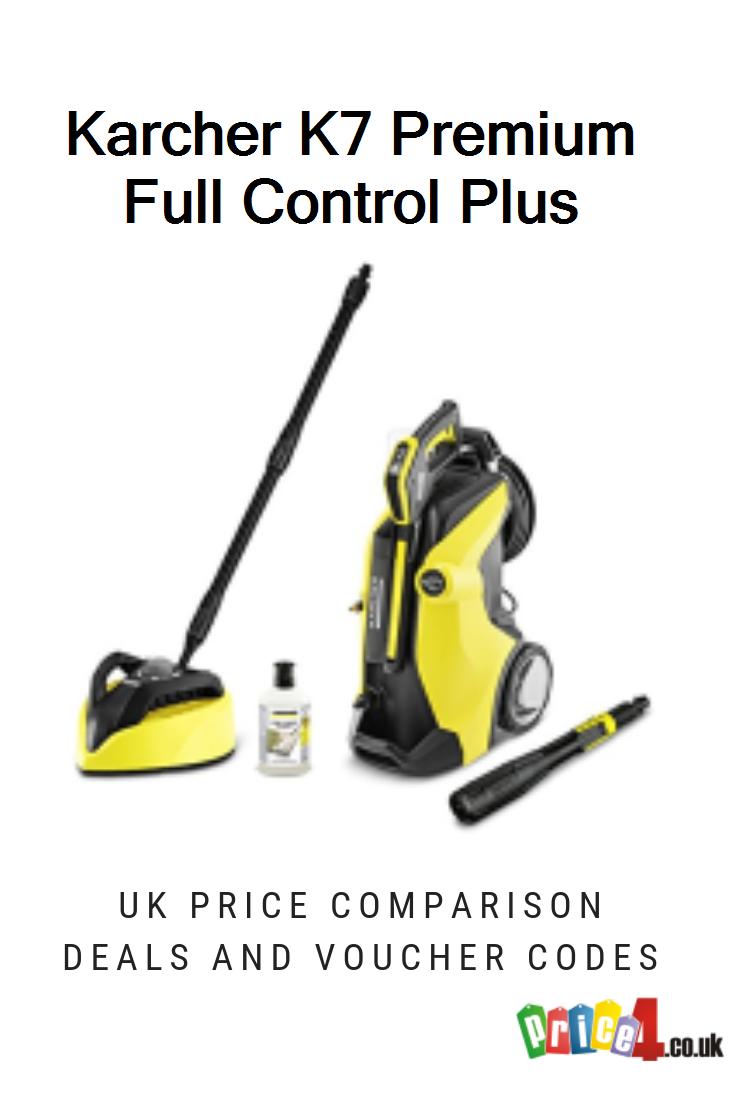 Karcher K7 Premium Full Control Plus Uk Prices Karcher K7 Premium Full Control Plus Home Pressure Washer Deals And Vouchers Premium Control Pressure Washer