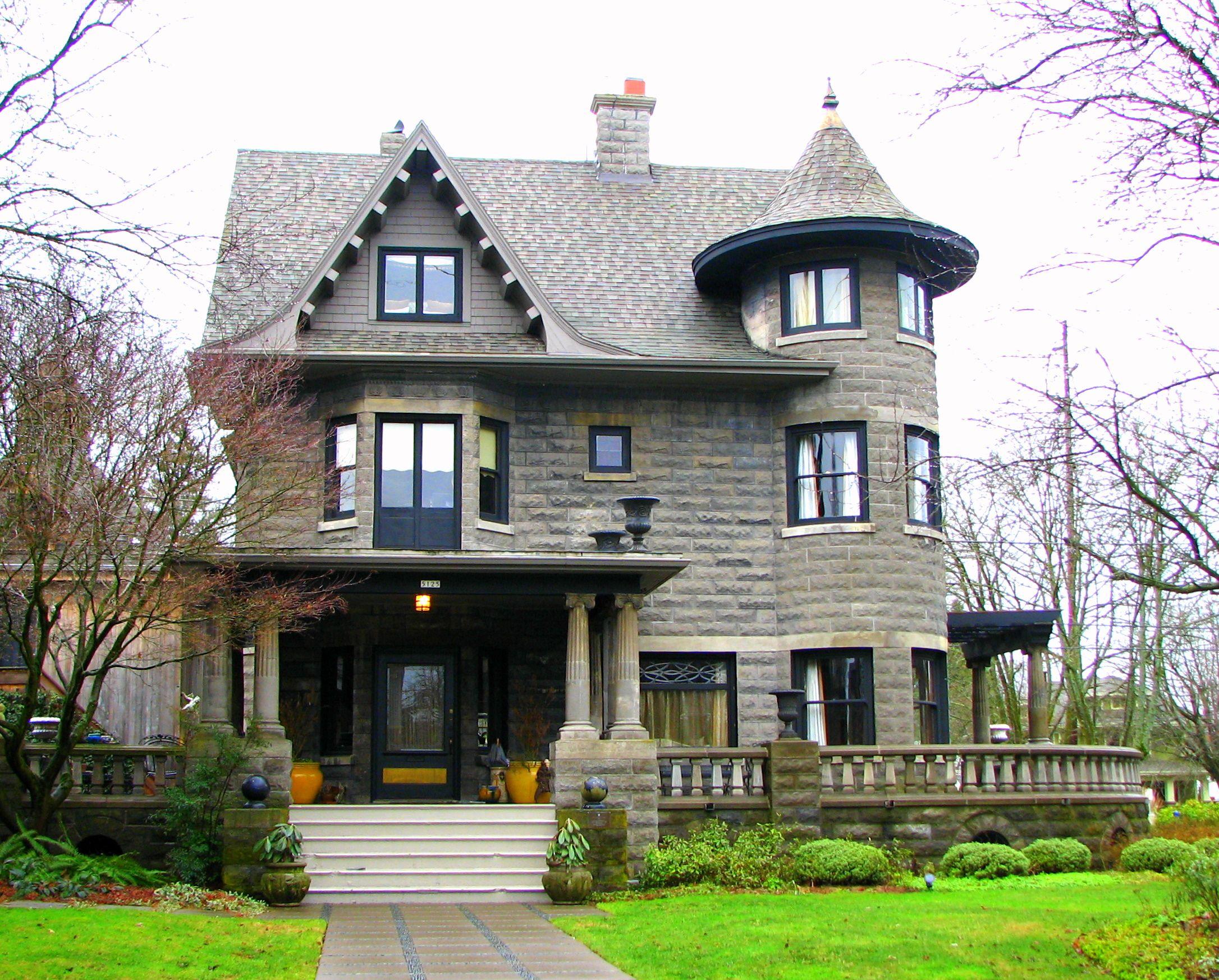 Historic Jennie Bramhall House Built 1909 Located