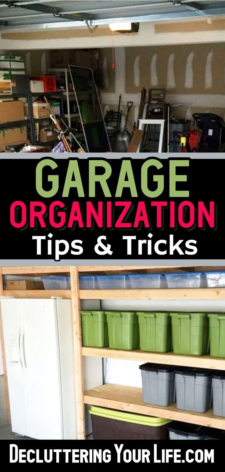 Garage Organization - 5 Quick and Cheap Garage Organizing Ideas images
