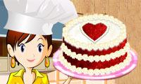 Tarta Terciopelo Rojo Cocina Con Sara Juega A Juegos En Línea Gratis En Juegos Com Sara S Cooking Class Red Velvet Cake Red Velvet