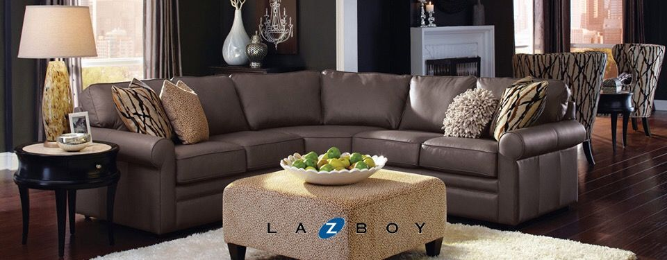 Collins Sectional in Moon Rock by La-z-boy : lazyboy sectionals - Sectionals, Sofas & Couches