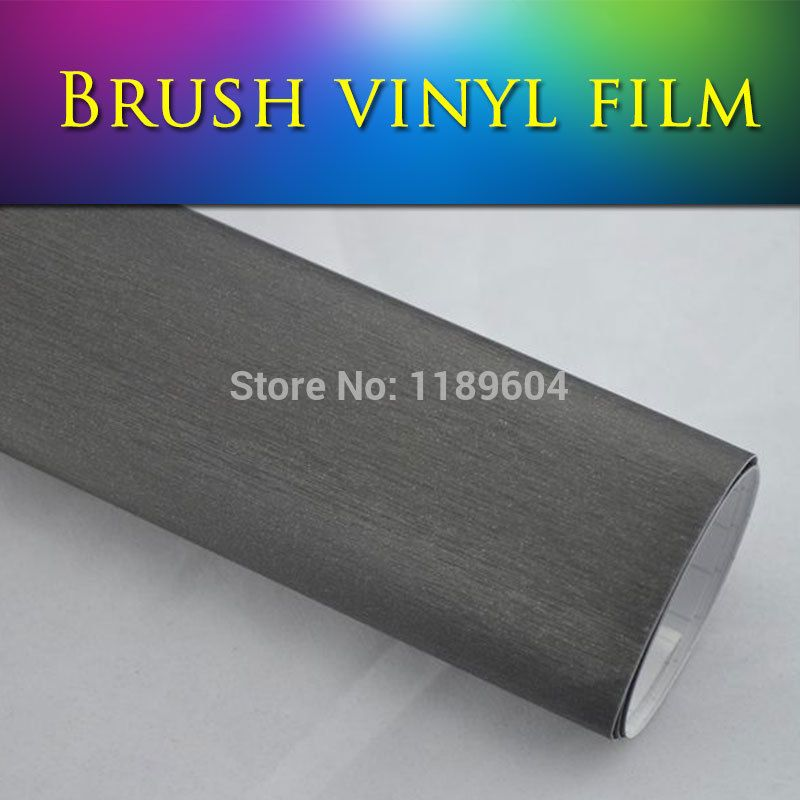 Find More Stickers Information about Freer Car Sticker High Quality 1.52*30m 5*98ft 6 colors brushed aluminum sticker gray for auto color changing free shipping,High Quality bubble drain,China bubble liquid for bubble machine Suppliers, Cheap bubble film from Freer on Aliexpress.com
