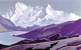 Sacred Himalayas - Nicholas Roerich