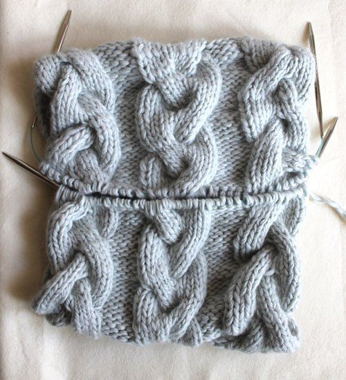 Braided Cable Cowl | Purl Soho (With images) | Cable cowl ...