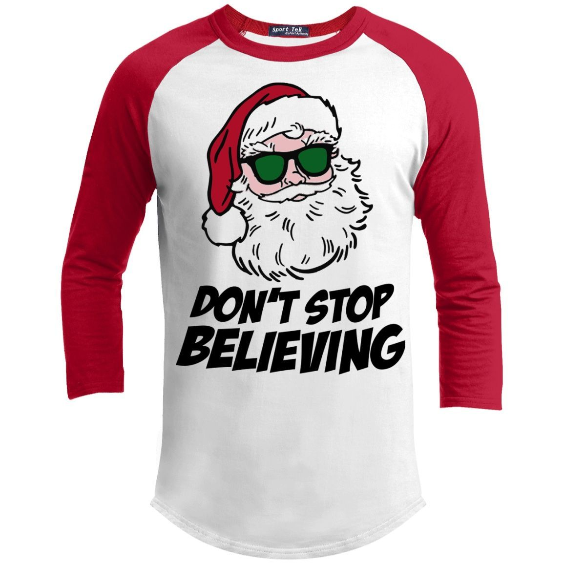 T-Shirts - Don't Stop Believing 3/4 Sleeve