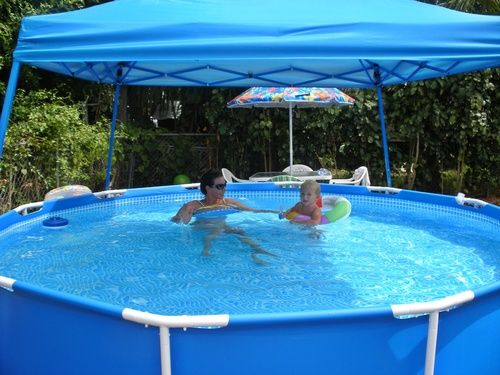 Cheap Intex Above Ground Pools Ground Pools Backyard