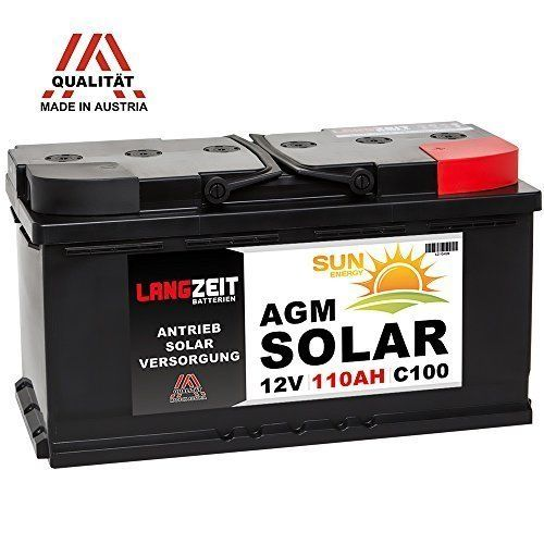 Exide Dual Agm Ep2100 240ah 2100wh Solar Wohnwagen Camping Wohnmobil