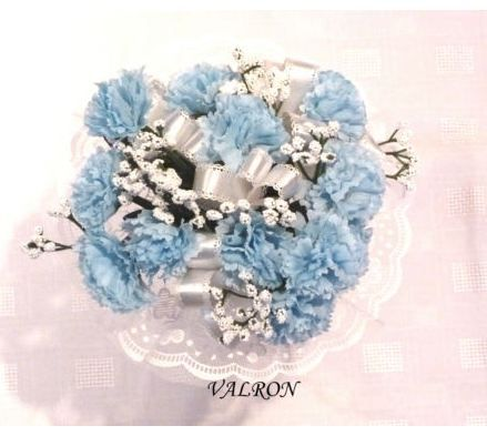 Allergy To Flowers Baby Blue Theme Carnations A Favorite With Images Floral Floral Rings Flowers