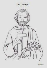 St Joseph Coloring Pages And Activities Catholic Inspired Catholic Catholic Coloring St Joseph