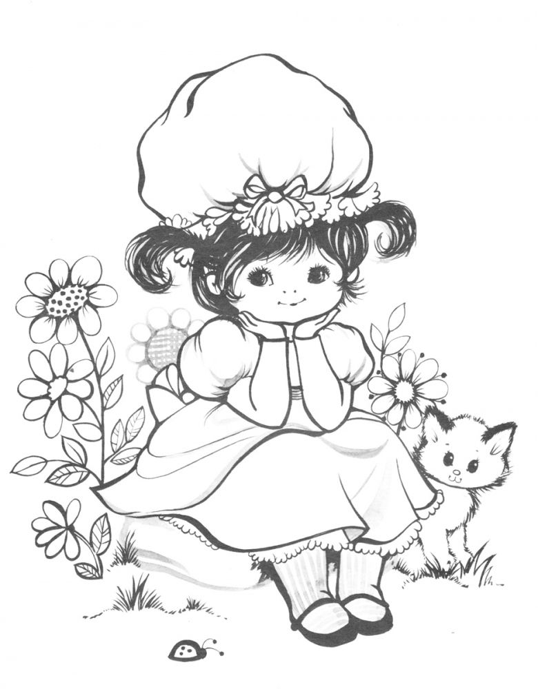 vintage coloring pages # 16