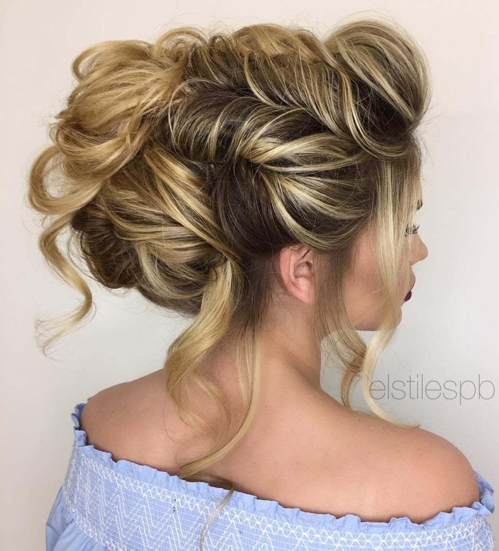 25 Special Occasion Hairstyles Hair Styles Curly Hair Styles Naturally Long Hair Updo