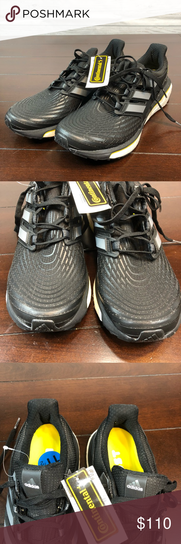 a9fe9c9e4 NEW Mens Adidas Energy Boost Running Shoes 11.5 NEW Mens Adidas Energy  Boost Running Shoes Black White CQ1762 Size 11.5 No box Brand new with tags  adidas ...