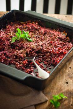 Linssi-punajuurilaatikko