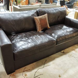 Crate And Barrel Leather Sectional Sofa