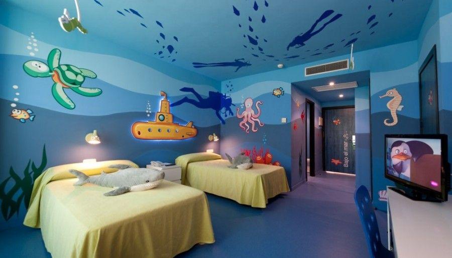 Hotel adh ocean islantilla habitaciones pinterest for Ver habitaciones para ninos