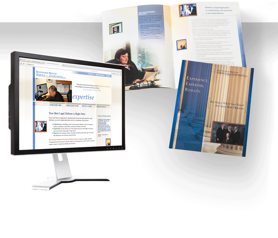 A bold law firm brochure design – Law Firm Brochure