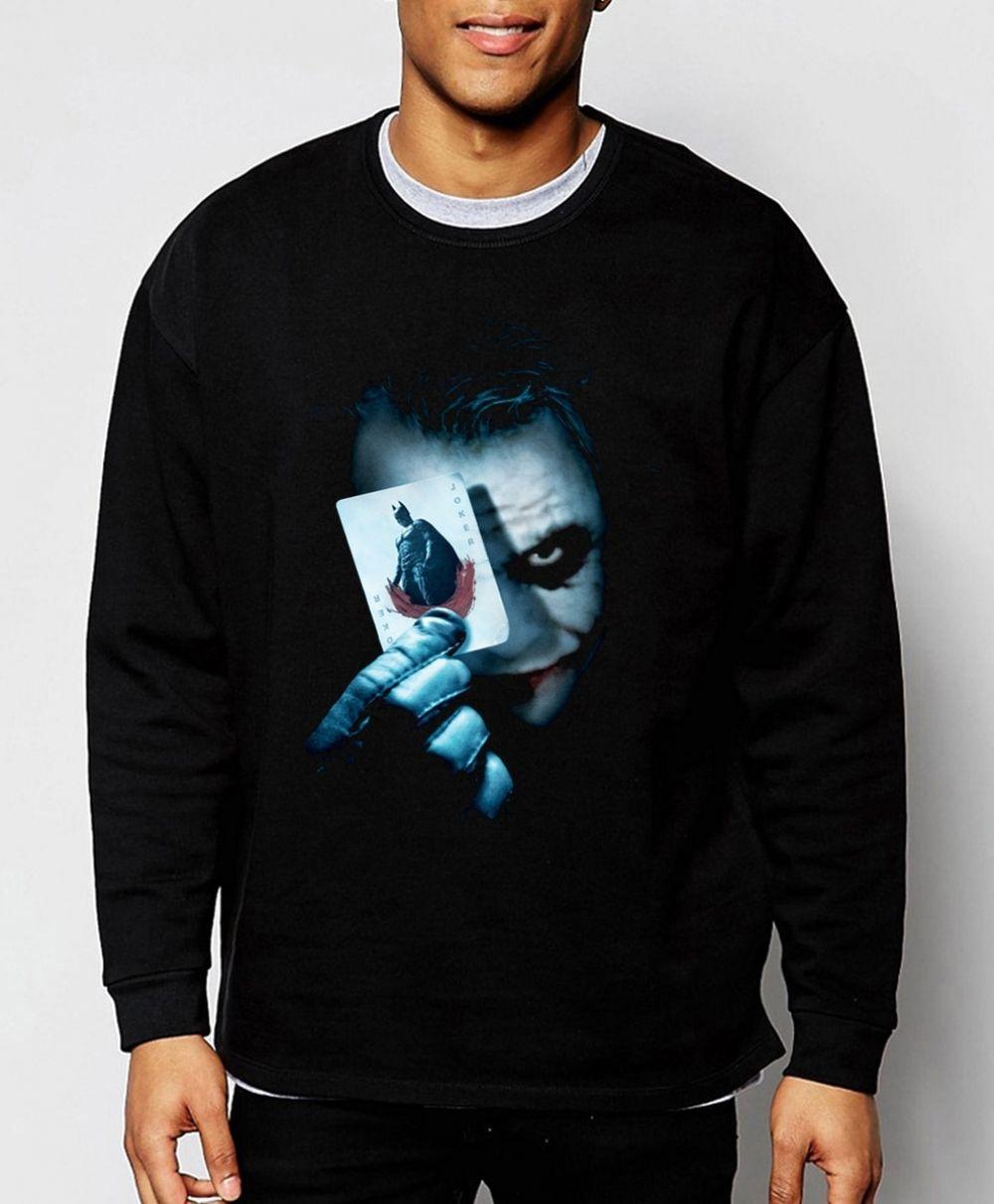 ed31fb240 Joker Heath Ledger Batman 2 The Dark Knight Rises 2019 new spring winter  fashion men sweatshirt hoodie cool streetwear tracksuit Price: 22.20  #fashion