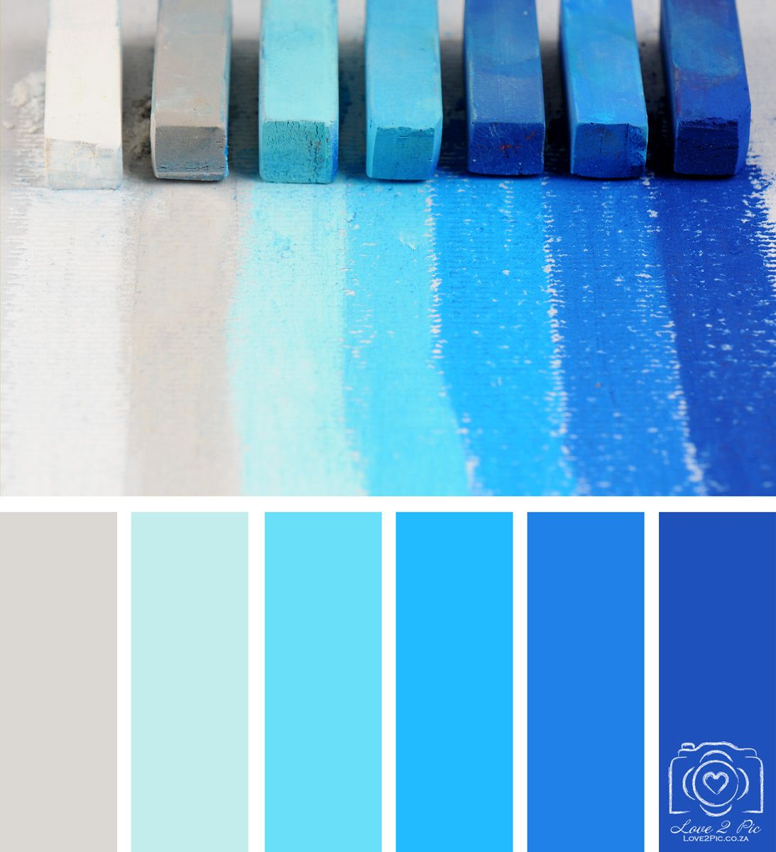 Pastel Color Palette: Colour Palette Inspiration - Blue Pastel Hues