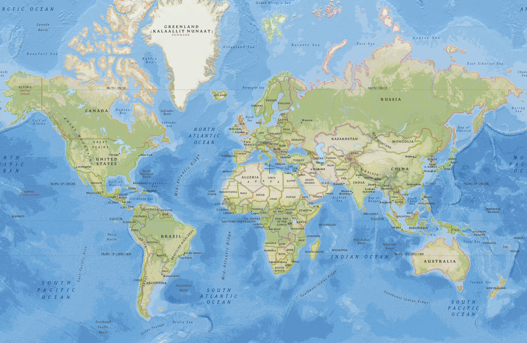Collection Of Diagram Google World Maps With Map | World ...