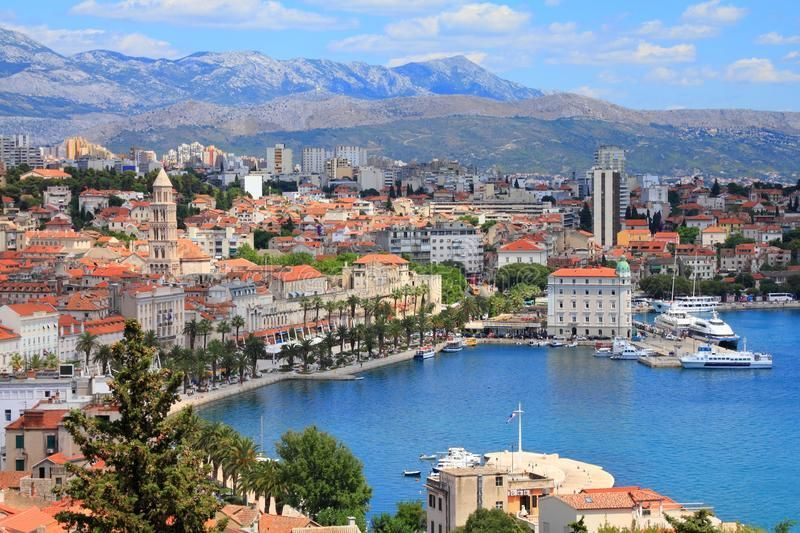 Split Croatia Stock Photo Image Of Split Croatia Town 50788402 Split Croatia Split Croati Summer Vacation Destinations Vacation Destinations Vacation